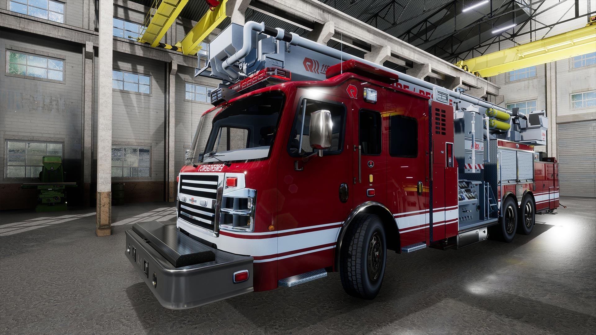 Firefighting Simulator - Coming 2020 on PC